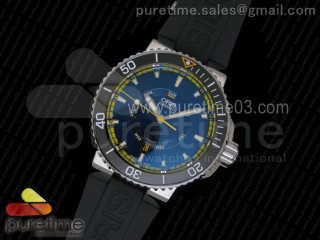 Great Barrier Reef Limited Edition II SS Black Dial on Black Rubber Strap A2836