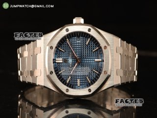 Audemars Piguet Royal Oak 41mm Clone AP 3120 All Steel Blue Dial 15400ST.OO.1220ST.03