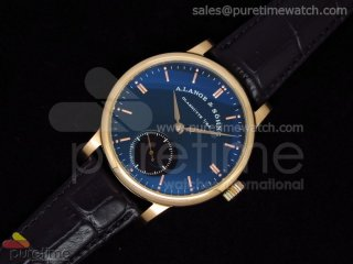 Classic 1815 RG Blue Dial on Leather Strap A17J