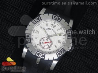 Easy Diver Automatic SS White/Black on Rubber Strap ETA2824