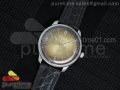 Senator Automatic SS Gold Dial on Black Leather Strap A3959