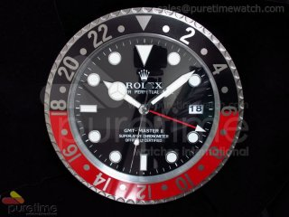Rollie GMT-Master II 16570 Black/Red Style Wall Clock