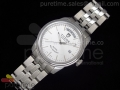 Prince Day Date SS White Dial on Bracelet A2836