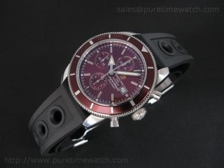SuperOcean Heritage Chronograph Brown V2