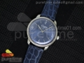 Senator Automatic SS Deep Blue Dial on Blue Leather Strap A3959
