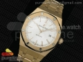 Royal Oak 41mm 15400 Lite RG Silver Dial on RG Bracelet A3120